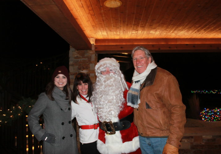 "Respite Care ""Winter Wonderland"" Holiday Lights and Santa"
